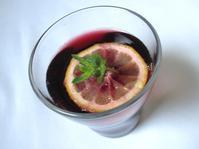 <イギリス菓子・レシピ> レッドワイン・クーラー【Red Wine Cooler】 - イギリスの食、イギリスの料理&菓子