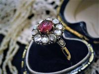 色合いと耀きのコントラストが美しいリング - AntiqueJewellery GoodWill