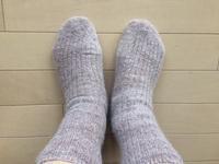 今年の夏の重ね履き靴下 - 暮らしの中のひとつ。