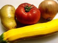 グリルズッキーニとトマトのマリネサラダ - 貧乏なりに食べ歩く
