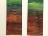 ソウル現代美術t館展示土地に染み付いた血 - ゆめであえる
