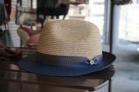 帽子のカブり方中折れハット - 帽子のVerde日記