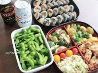 花火大会とお弁当 - 男子高校生のお弁当