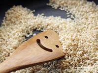七号食~自家発芽玄米で玄米米粉を作ってみました。 - スパイスと薬膳と。
