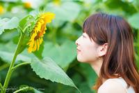sun flower 2 - naco #128 - Mi-yan's PHOTO LIFE blog [PORTRAIT]