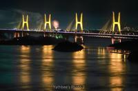 ~ 橋と花火 ~2017.8.19 - Yathbee's Photo 2