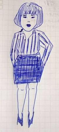 夏も後半 - たなかきょおこ-旅する絵描きの絵日記/Kyoko Tanaka Illustrated Diary