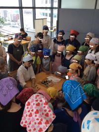 和菓子教室@桜木町・県民共済ビル - 赤飯番長のひとりごと