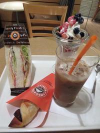 【サンマルクカフェで満腹1000円】 - お散歩アルバム・・春めく日々
