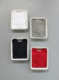 n100 柔らかい質感のクルーネックTシャツ - 『Bumpkins putting on airs』