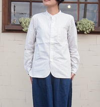 Stand Collar Shirts :: Stripe - trunk blog