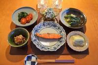 野菜たっぷりの夕食 - まほろば日記