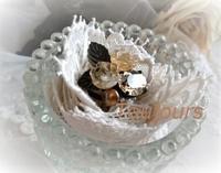 黄色い薔薇のリング - Bijoux  du  Bonheur ~ビジュー ドゥ ボヌール~