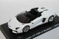 1/64 GRANI&PARTNERS Lamborghini Aventador Roadster LP-700-4 2012 - 1/87 SCHUCO & 1/64 KYOSHO ミニカーコレクション byまさーる
