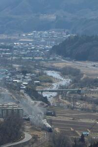 利根川早春景 - 2017年早春・上越線 - - ねこの撮った汽車