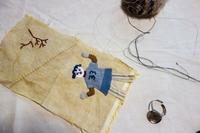 楽しいこと始めよう - 糸巻きパレットガーデン
