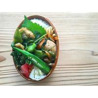 鶏胸肉中華炒めBENTO - Feeling Cuisine.com