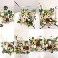 シャビーなボックスアレンジメント - **おやつのお花*   きれい 可愛い いとおしいをデザインしましょう♪