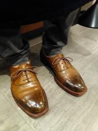 はじめまして - シューケアマイスター靴磨き工房 銀座三越店