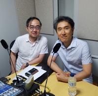 ラジオ局「OTTAVA」での取材 - マリンバ奏者、名倉誠人のニューヨーク便り