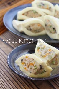 懐かしさの二歩手前の 高野豆腐のふわぁっふわぁっ はさみ煮 - 家族みんなのニコニコごはん