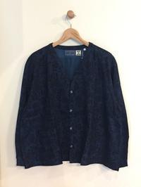 BLUE BLUE JAPAN / インディゴツイル ブルーローズ キモノシャツ - Safari ブログ