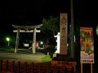 羽黒山 五重塔のライトアップ - tokoya3@