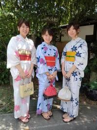 8月最後の日曜日、浴衣で楽しく。 - 京都嵐山 着物レンタル&着付け「遊月」