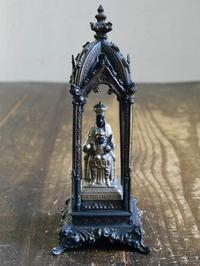 聖母子像 黒いマリア モンセラ修道院 小さなチャペル    /E665 - Glicinia 古道具店