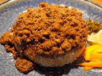 牛豚鶏のミックスキーマ〔カレー屋SUN(サン)/カレー/JR新福島〕 - 食マニア Yの書斎