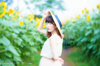 sunflower 4 - naco #132 - Mi-yan's PHOTO LIFE blog [PORTRAIT]