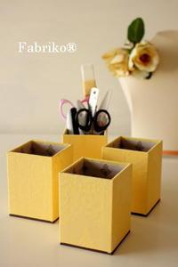 基本の箱はアレンジ自在 - Fabrikoのカルトナージュ ~神戸のアトリエ~