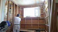 【千年の家・・・浴室を作ってます】 - 木楽な家 現場レポート