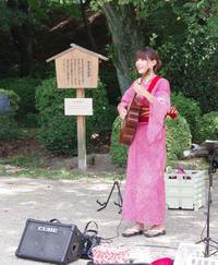 名古屋城での演奏、ありがとうございました! - 愛知・名古屋を中心に活動する女性ギタリストせきともこのブログ