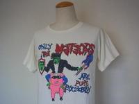 Vintage 80s The Meteors ヴィンテージ メテオス サイコビリー 古着 バンド Tシャツ - Used&Select 古着屋 コーナーストーン CORNERSTONE