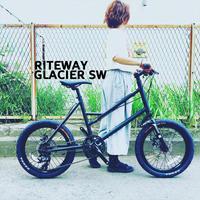 2018 RITEWAY 『 GLACIER SW 』グレイシアSW ライトウェイ シェファード パスチャー スタイルズ シェファードシティ クロスバイク 自転車女子 おしゃれ自転車 自転車ガール - サイクルショップ『リピト・イシュタール』 スタッフのあれこれそれ