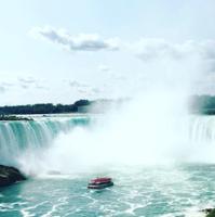 カナダへ渡り、ナイアガラの滝へ! - NY/Brooklynの空の下