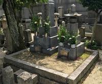 墓石クリーニング - お墓