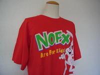 Vintage 90s NOFX TRIX RABBIT FAT ヴィンテージ メロコア 古着 バンド Tシャツ - Used&Select 古着屋 コーナーストーン CORNERSTONE