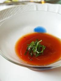 トマトのジェラティーナ - シニョーラKAYOのイタリアンな生活