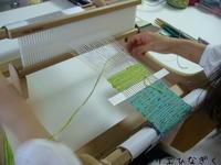 織り初体験のコースター - アトリエひなぎく 手織り日記