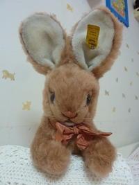 ヴィンテージ・シュタイフのふわふわのウサギちゃん Cosy Mummy - ヴィンテージ・シュタイフと仲間たち