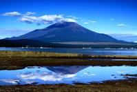 29年8月の富士(8)湖畔の富士 - 富士への散歩道 ~撮影記~