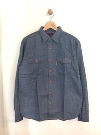 BLUE BLUE / ミニヘリンボーンネル ワークシャツ - Safari ブログ