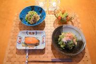 お野菜たっぷりの夕食 - まほろば日記