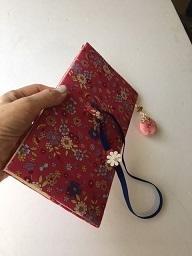 改良パスポートケース - グリママの花日記