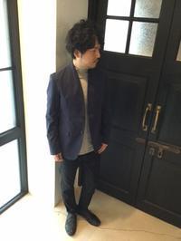 スッキリとした、大人のノーカラージャケット。 - AUD-BLOG:メンズファッションブランド【Audience】を展開するアパレルメーカーのブログ