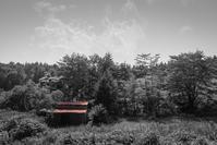 注意喚起を促す赤い屋根 - Film&Gasoline