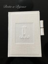 手帳カバーとボワットキャレ - Boîte à Bijoux