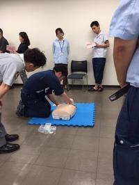 AED講習 - 埼玉県魚市場「市場あれこれ」